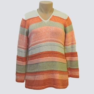 L.L. Bean knit chunky pullover sweater size large